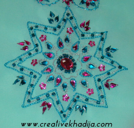 Creative Mind Khadija  Hand Embroidery Zardosi Work