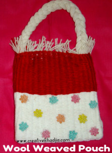 Hand Weaved Wool Pouch designs