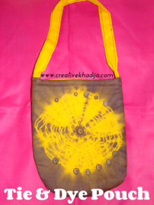 tie and dye pouch designs