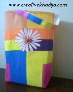 fabric tote easy making