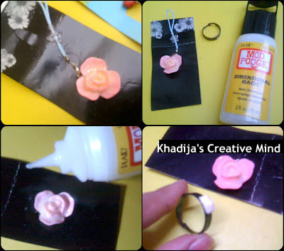 DIY Necklace & Resin Flower