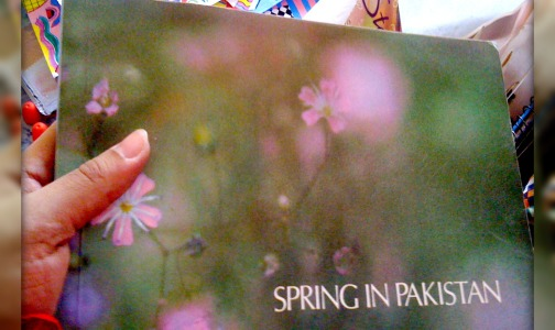 "I am Reading""Spring In Pakistan"""