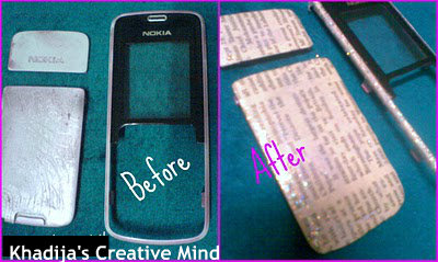 Cell Phone Casing Make Over