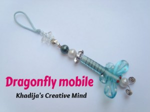 Dragonfly Charm Mobile