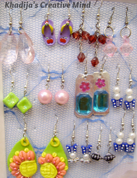 Handmade Polymer/Dough Earrings