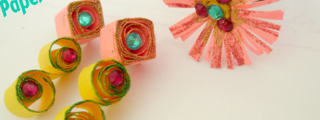 DIY Paper Quilled Accessories