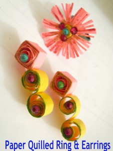 Paper Quilled Accessories