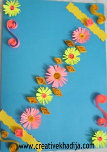 The card ...  sc 1 st  Creative Khadija & Paper Quilling Cards and Ideas