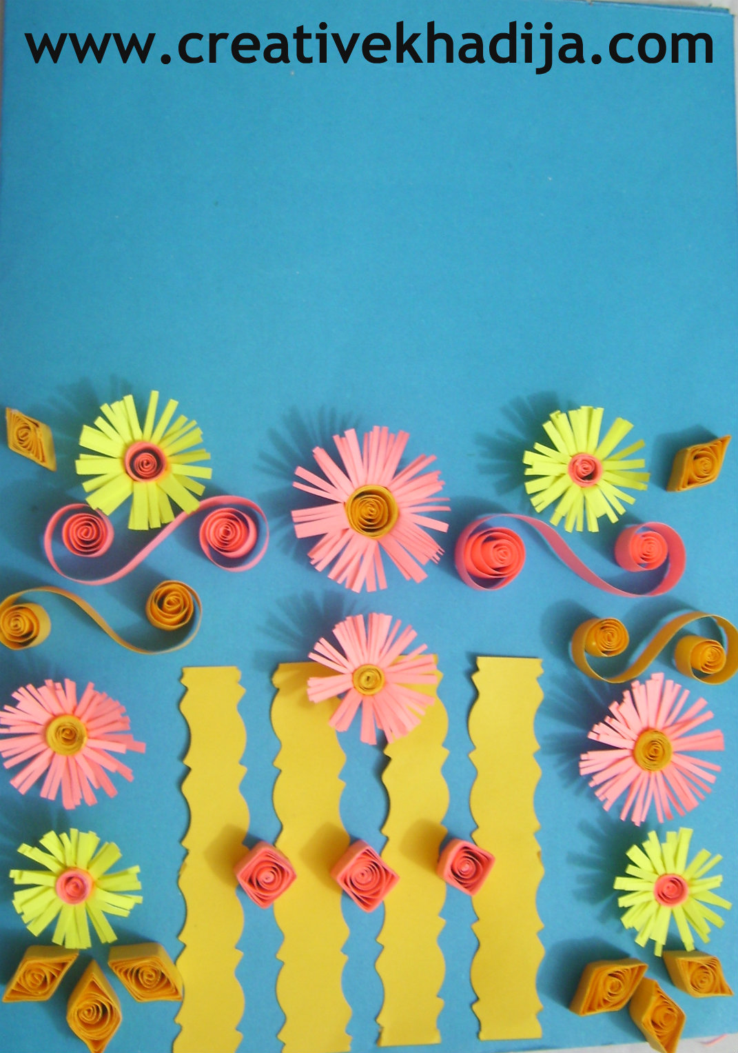 Paper Quilling Card Ideas