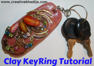 Beautiful Clay Keyring Tutorial