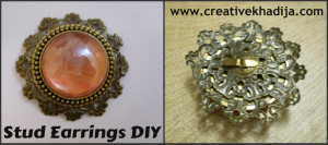Stud Earrings DIY