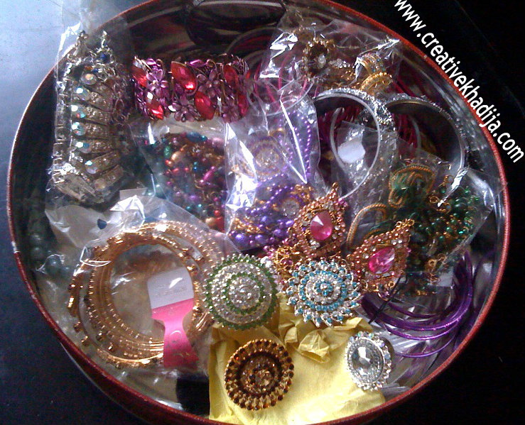 jewelry organizer DIY