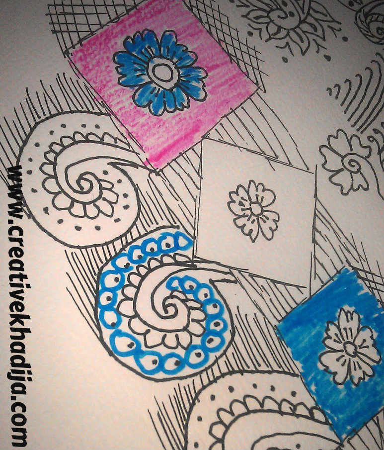 freehand drawings cards
