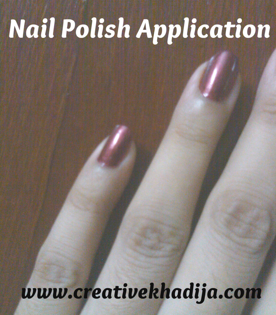 nail polish application