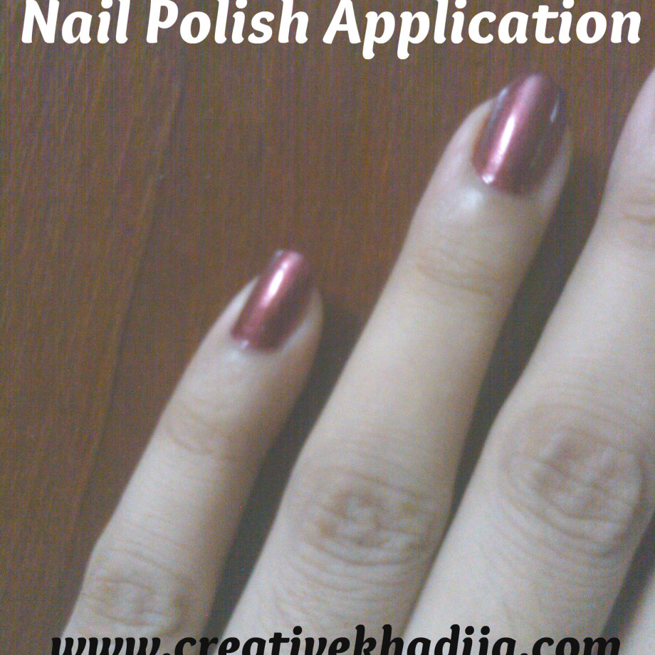 NailPolish Application Tip
