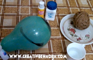 mod podge globe making
