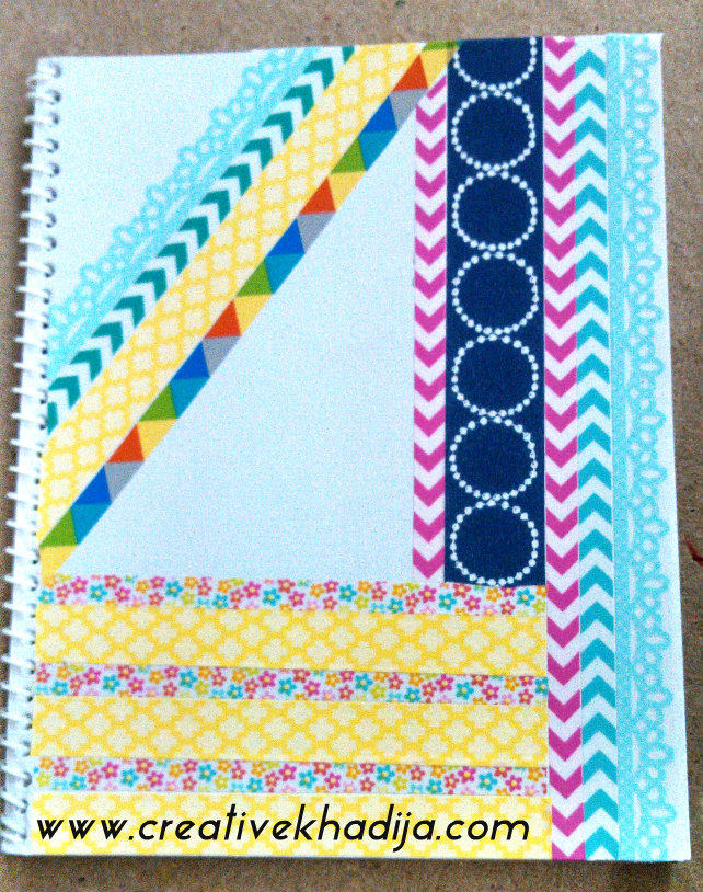 How to design planner cover for Art and craft file cover decoration