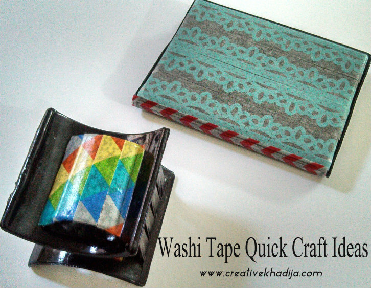 washi tape crafts