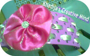 DIY headband design