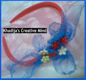 DIY headband for girls