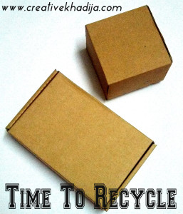 how to recycle brwon boxes packages