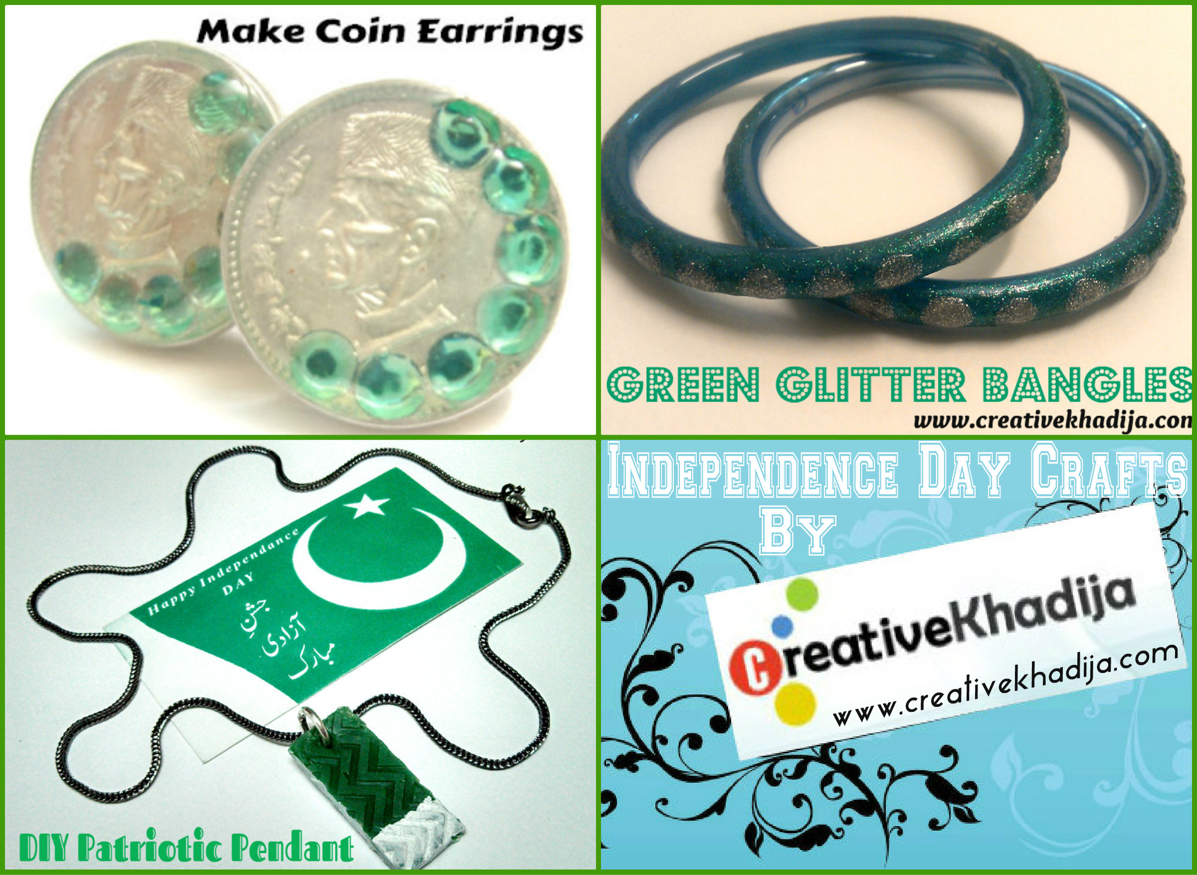 independence day crafts by creative khadija