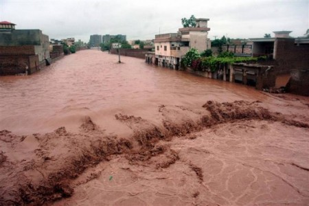 flood in pakistan 2014