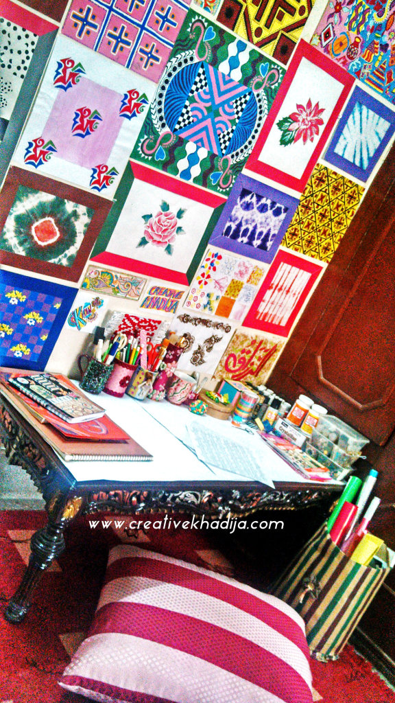 creativekhadija craftroom craft space area-