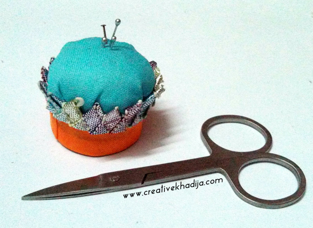 pincushion diy recycling