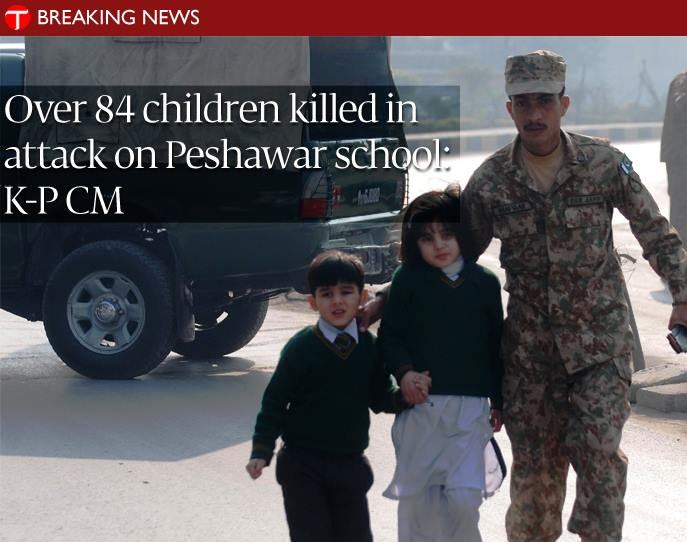 peshawar school terrorists attack