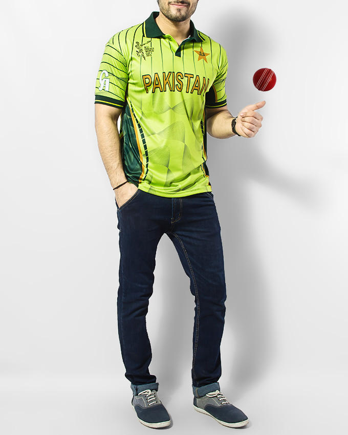 Pakistan Cricket World Cup 2015 Official Jersey