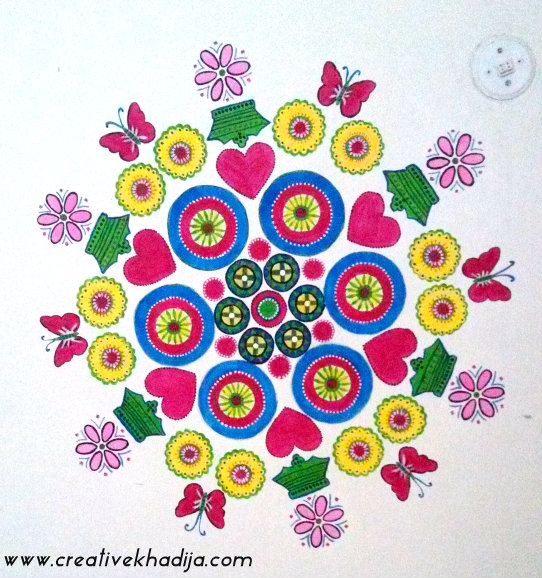 spring inspired painting wall art