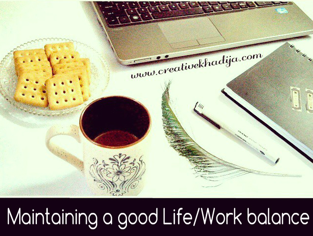 how to balance between work and good life