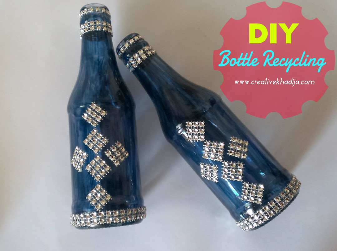 Glass decoration ideas - Bottle Painting Ideas And Tutorials