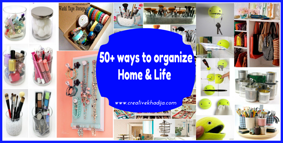 how to organize life & stuff