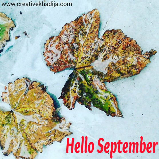 hello september-fall is here