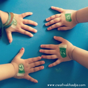 pakistan-independence-day-face-painting-kids-crafts