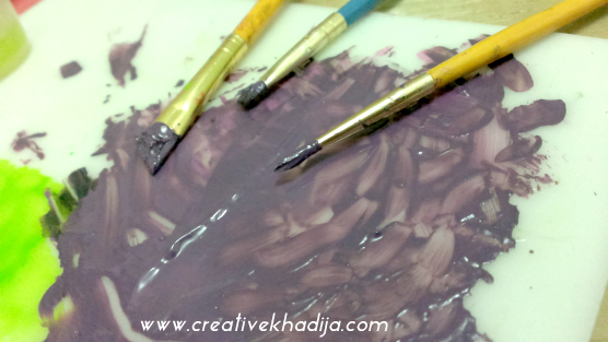 abstract wall art painting making ideas