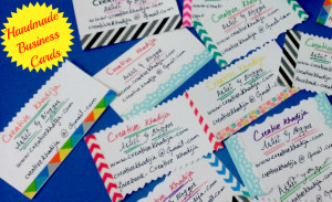 How To Make Handmade Business Cards for Creative People