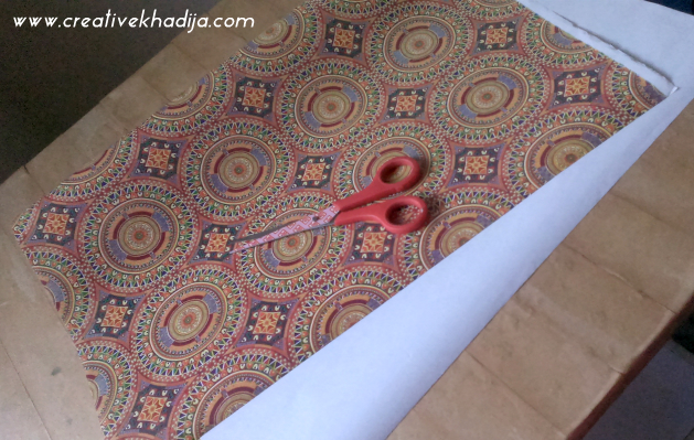 how to decoupage old table