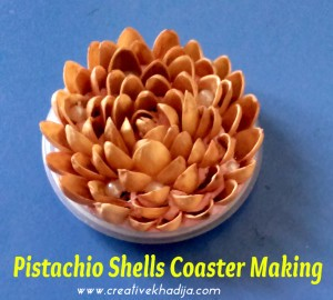 pistachio shells crafts ideas and tutorial