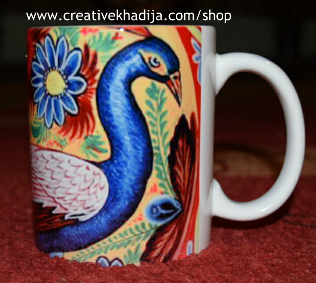 truck art printed customized mugs for sale