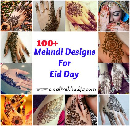 beautiful mehndi designs for Eid & wedding