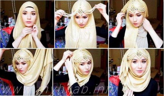 accessorised hijab style