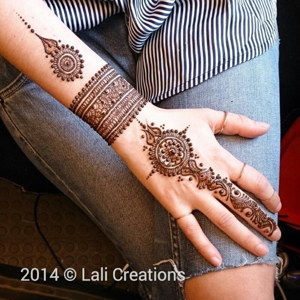henna design for eid