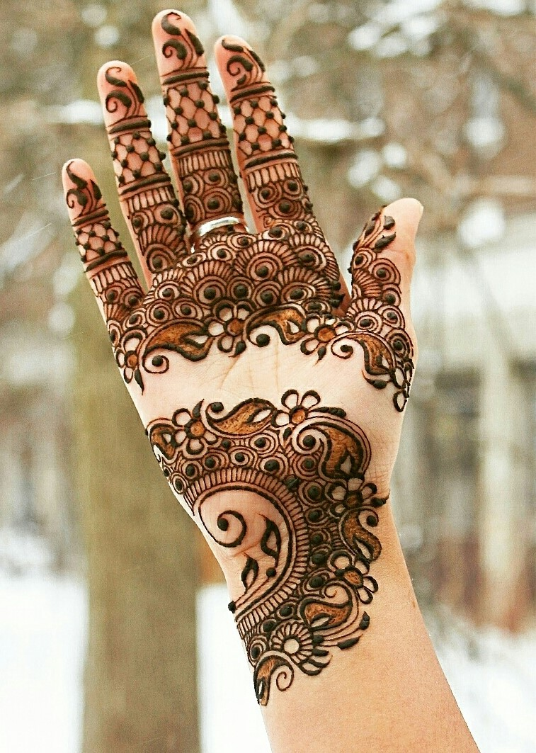 henna design for hands 2016