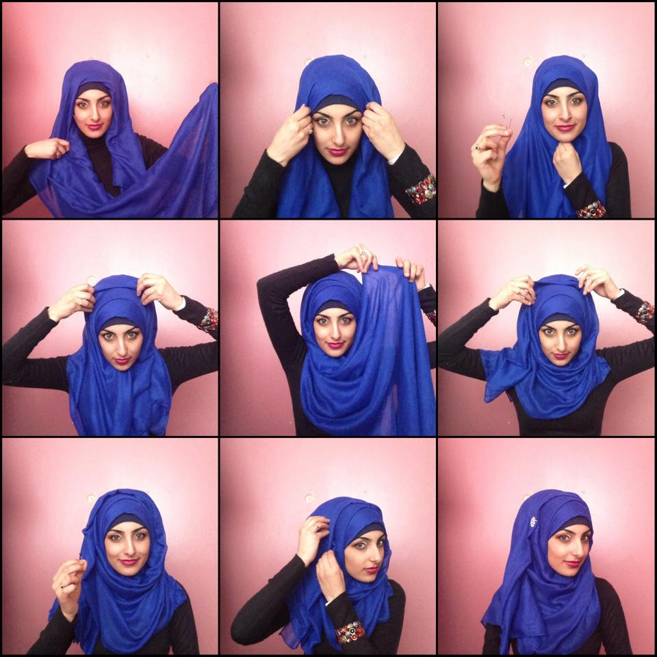 Easy Fashionable Hijab Styles For S