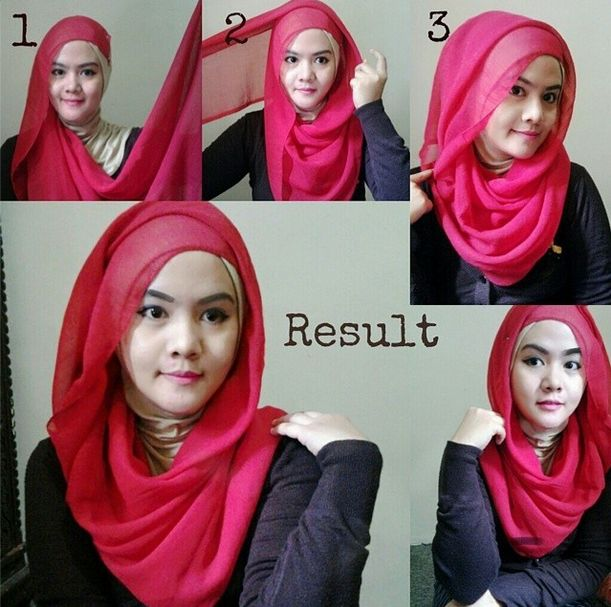 loose and simple hijab