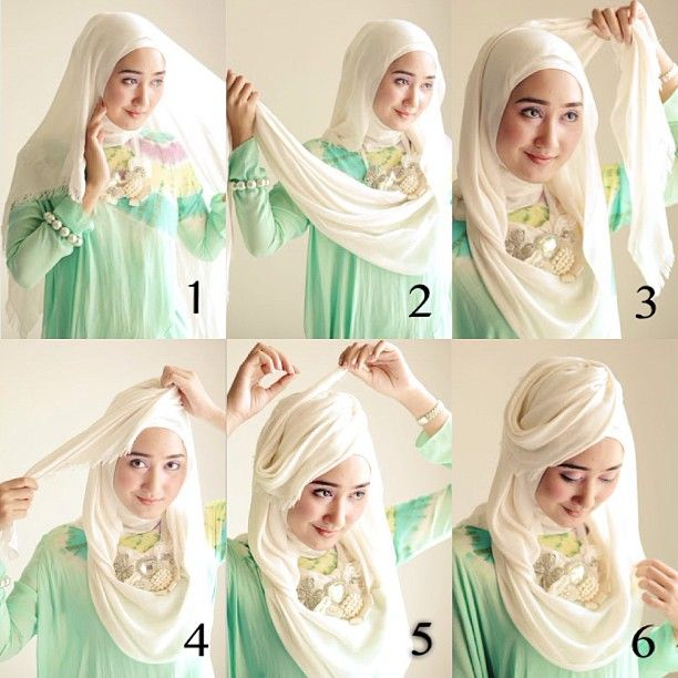 simple stylish hijab