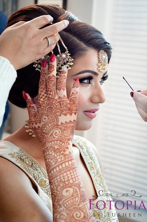 traditional pakistani bridal mehndi